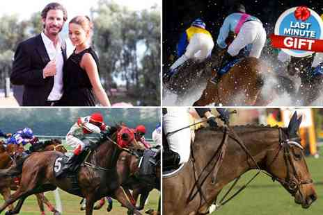 Activity Superstore - Thrilling day at the races for 2 plus a behind the scenes tour  - Save 50%