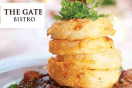 The Gate Bistro - Two course meal for Two - Save 58%