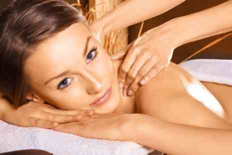 Bellasante - Massage and Gatineau Facial Plus Mani Pedi and Eyebrow Wax - Save 67%