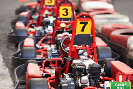 SupaKart Newport - Grand Prix Go Karting Experience for One - Save 51%