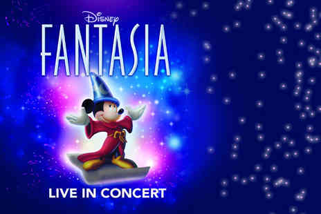 Disney Fantasia - Top price ticket to see Disney Fantasia Live in Concert - Save 50%