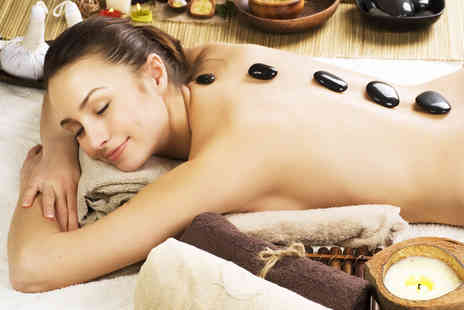 Beauty For All -  35 minute back neck & shoulder hot stone massage - Save 74%