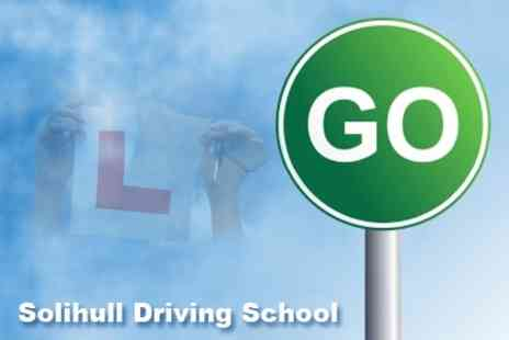Solihull Driving School - Three 60 Minute Driving Lessons for £22  (Up to £66 Value) - Save 67%