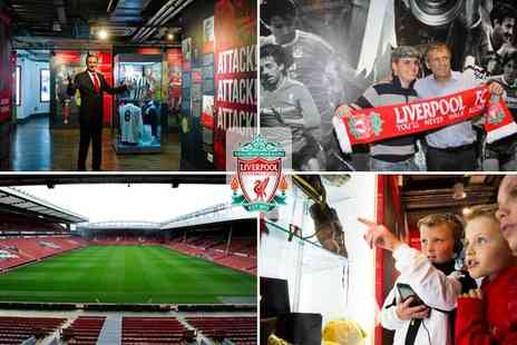 Liverpool FC - Story interactive museum tour - Save 50%