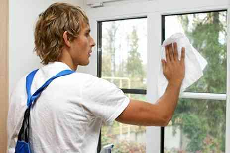 D&D Cleaning Solutions - Cleaning For Up to 15 Windows and Doors, 15m of Guttering or Both  - Save 50%