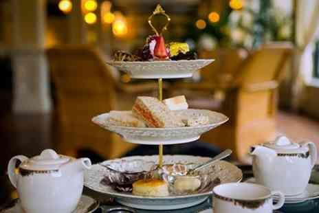 Drayton Old Lodge - Deluxe Afternoon Tea For Two With Bubbly - Save 50%