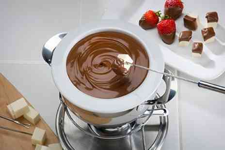 The Bistro at Haguelands - Chocolate Fondue Afternoon Tea With Wine - Save 50%