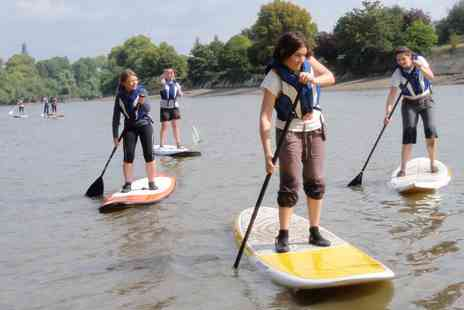 Think 360 Sports Ltd - 2.5 hour intro to SUP lesson voucher - Save 20%