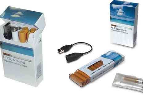 Jabeens - E Cigarette Starter Kit with 10 Refills - Save 85%