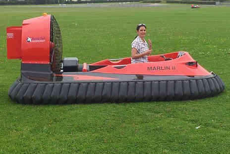 CarLimits - Five lap hovercraft experience - Save 50%