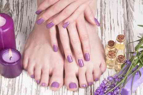 The Beauty Pad - Gel Manicure or Pedicure - Save 52%