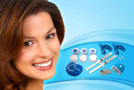 I Want White Teeth - £99 for a Custom Tray Laser Teeth Whitening System worth £350 - Save 72%
