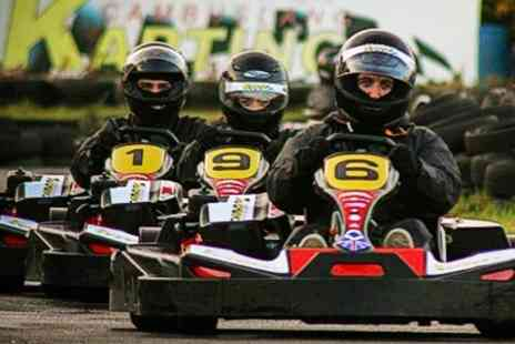 Cambuslang Karting - Outdoor Karting Session - Save 40%