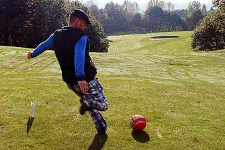The Axe Cliff Golf Club - Axe Cliff Golf Club Foot Golf With Hot Drink For Two  - Save 56%