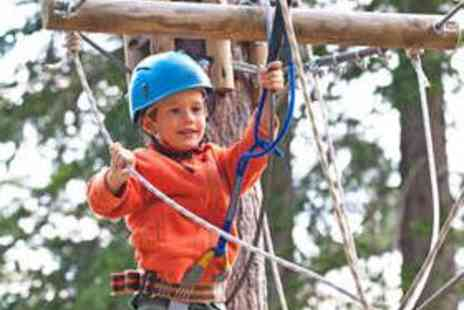 Tree Top Adventure - Family Treetop Adventure Course - Save 50%