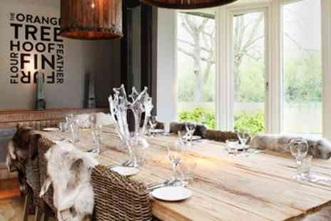 The Orange Tree - Dinner & Bubbly for 2 at Solihull Gastropub - Save 44%