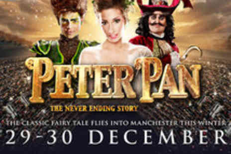 Eventim UK - Top Price Tickets to Peter Pan The Never Ending Story Starring Stacey Solomon - Save 58%