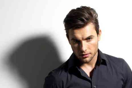 Cuts and Colours - Mens Cut or Style and Blow Dry  With Hot Towel - Save 50%