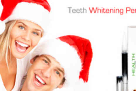 Health Cocoon - Teeth Whitening Pen from Health Cocoon - Save 83%