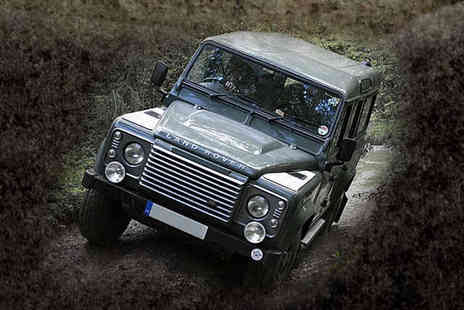 Mud Dog Off Road - Two Hour Land Rover Driving Experience - Save 73%
