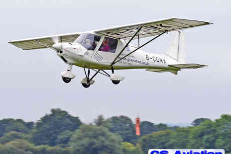 G S Aviation - 45 Minute Microlight Flying Experience - Save 51%