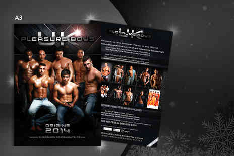 Pleasure Ladies Night - 2014 UK Pleasure Boys calender - Save 58%