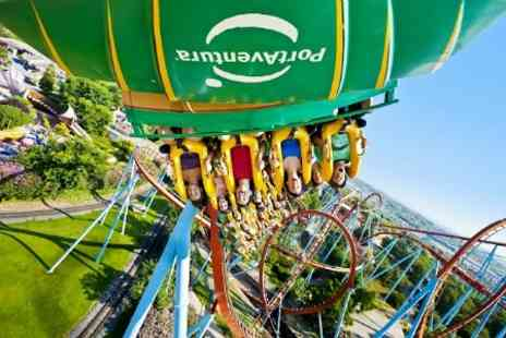 TOP TOURISME - In Portaventura Three Nights With Themed Park Entry and Breakfast For Up to Four - Save 33%