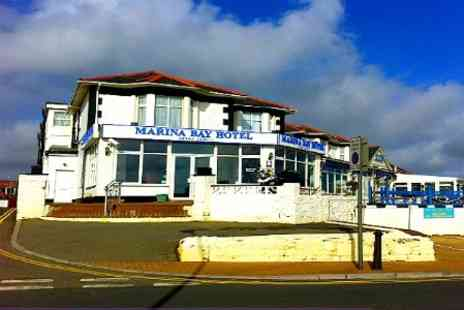 Marina Bay Hotel - In Isle of Wight One Nights For Two With Breakfast - Save 52%