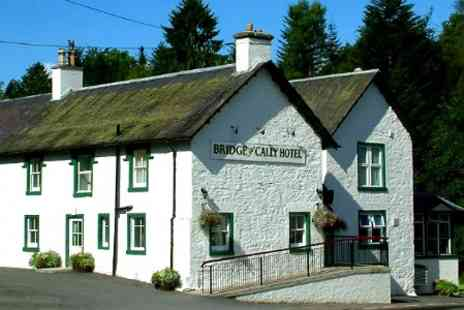 Bridge of Cally Hotel - Two Nights stay For Two With Breakfast, Tea and Scones at  Perthshire - Save 47%
