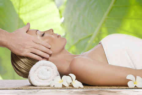 Mystic & Holistic - 45 minute Indian head back neck and shoulder massage - Save 79%
