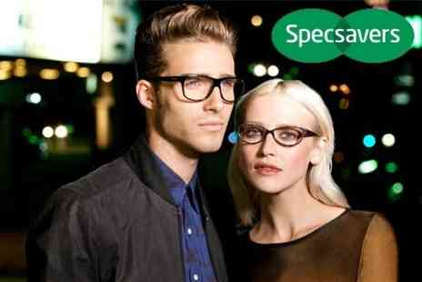 Specsavers Opticians - Designer Glasses Plus Eye Test - Save 51%