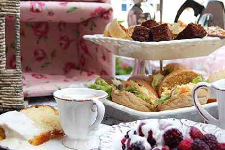 Alfreton Hall - Sparkling Afternoon Tea For Two - Save 55%