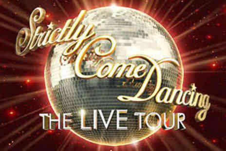 The O2 - VIP Package to  Strictly Come Dancing Live with Access to Alphabet City and a Glass of Bubbly Each - Save 14%