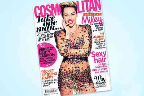 Cosmopolitan - 12 Issue Cosmopolitan Subscription - Save 56%