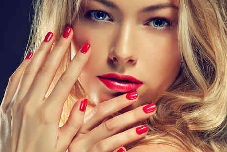 Hollywood Tanning & Beauty - One hour Shellac manicure - Save 60%