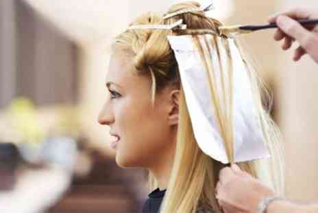Images Hair Design - Restyle and Highlights or Treatment - Save 73%