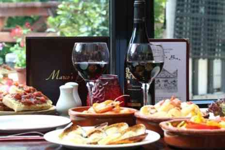 Marcos Bar - Tapas dishes such as chorizo in white wine, and calamari For Two - Save 58%