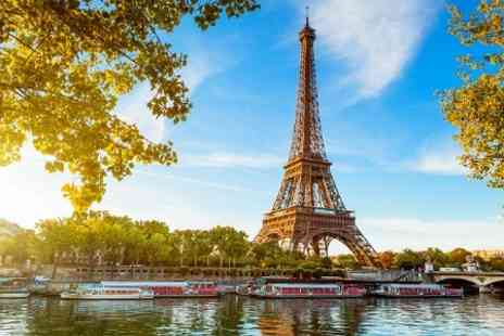 Crystal Travel - 3 Nights stay With Regional Flights For Two  Plus Tour at Paris - Save 50%
