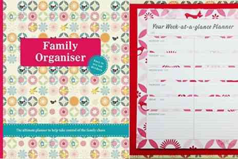 Parragon Books - Family Organiser the Ultimate Planner for the new year - Save 35%