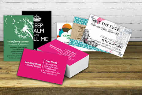 Good Print - 500 single sided business cards - Save 90%