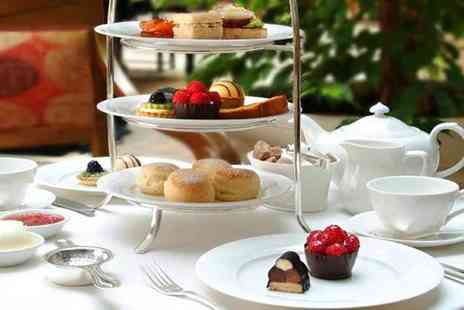 Tophams Hotel - Afternoon tea for two with a glass of bubbly each including delicious finger sandwiches  - Save 59%
