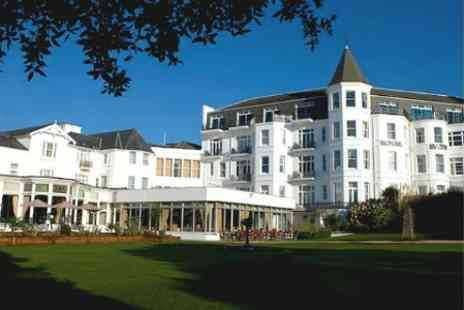 The Royal Bath Hotel - In Bournemouth One Night For Two With Breakfast and Wine - Save 24%
