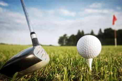 Clays Golf - Golf For Two With Bacon Roll and Drink - Save 50%