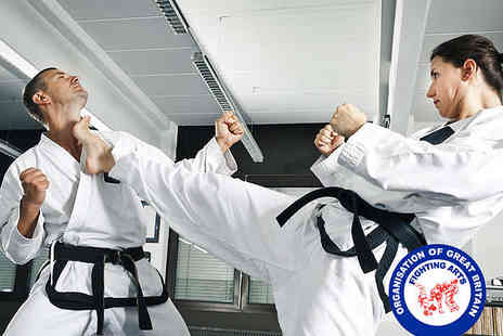 Fighting Arts - Two Months of Kempo Jujitsu Self Defence Classes - Save 73%