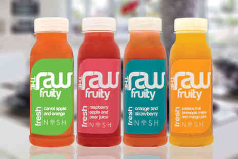 Nosh - Three day Raw Fruit Juice Package Including e book Phone Consultation - Save 53%