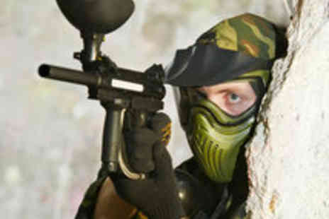 Urban Paintball - Indoor Paintball Session Including 100 Balls - Save 89%