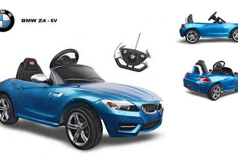 MH Group - Amazing licensed BMW Z4 kids electric ride on car - Save 44%