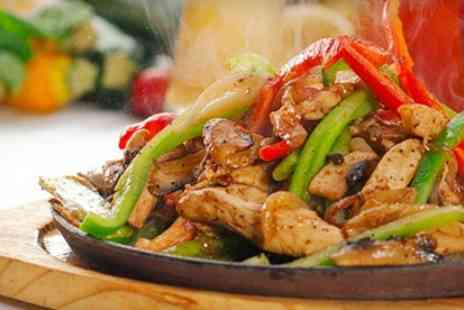 Greenans Steakhouse - Sizzling Stir Fry With Dessert For Two - Save 49%