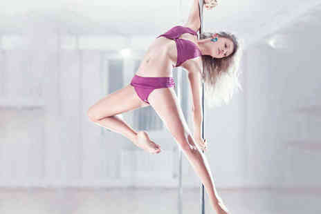Venus Pole Dancing - Six One Hour Group Pole Dancing Lessons - Save 72%