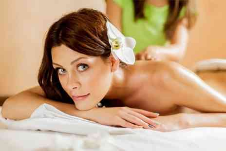 Ashleys Beauty Salon - Express Facial Massage  Mani Pedi and Eyebrow Wax - Save 52%
